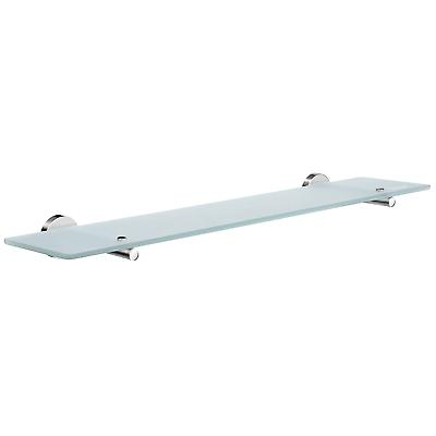 Accueil verre Bathroom Shelf - Chrome poli HK347