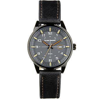 Bruno Banani watch wristwatch ob leather analog BR30010