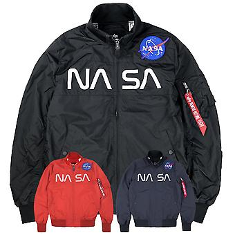 Alpha industries mäns jacka NASA
