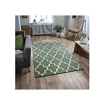 Arabesque Sage Green  Rectangle Rugs Plain/Nearly Plain Rugs