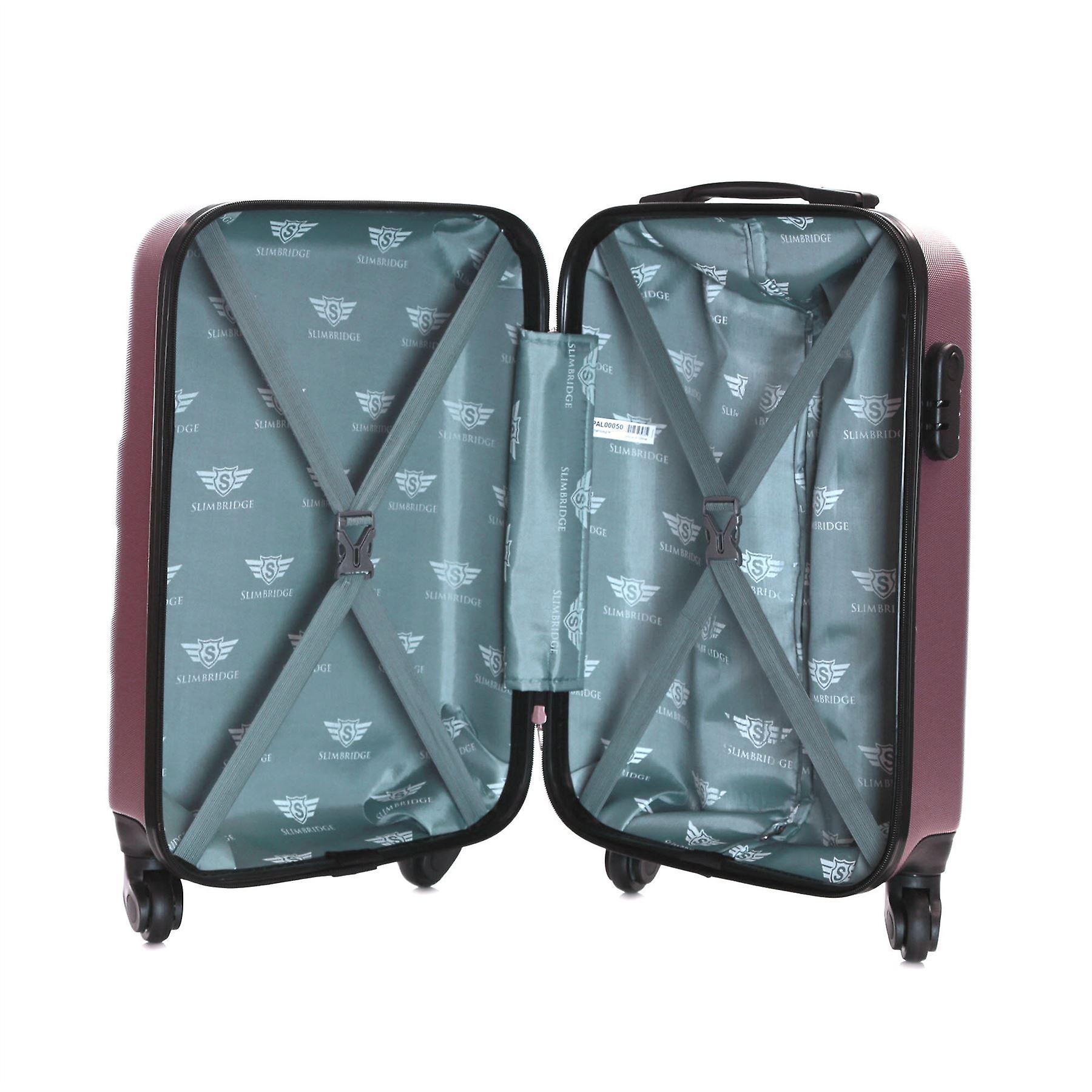Slimbridge Borba 55 cm Hard Suitcase, Rose Gold