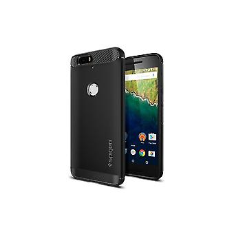Spigen Rugged Armor to Nexus 6 p Black