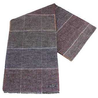 Fraas Reversible Checked Scarf - Multi-colour