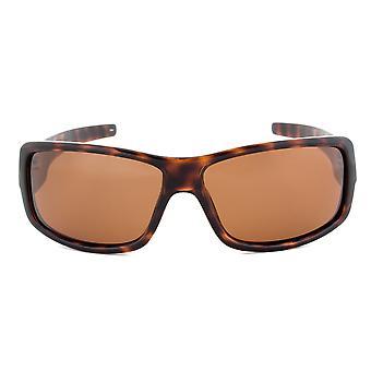 Timberland TB7092 52H Rectangular Sunglasses | Tortoise Brown Frame | Brown Lens