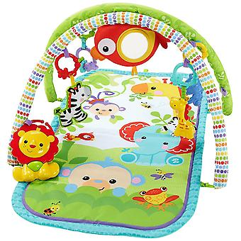 Fisher-Price 3-i-1 upptagen Baby Rainforest Activity Gym