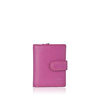 Bourse d'onglet 11,5 cm cuir rose Fuchsia