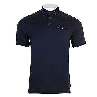 Ted Baker Mens Navy Critter Polo Shirt