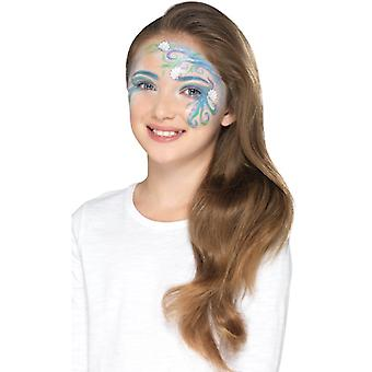 Mythical children makeup make UP FX Carnival Schminke mythical face color