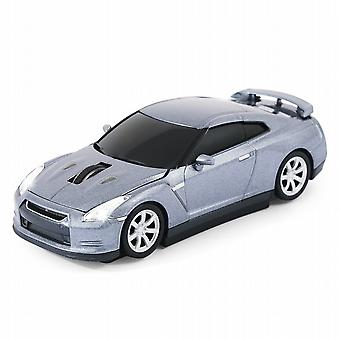 Official Nissan GT-R Car Wireless Laser Computer Mouse - Grey