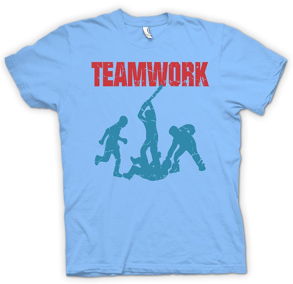 Mens T-shirt - Teamwork - Yob Kultur