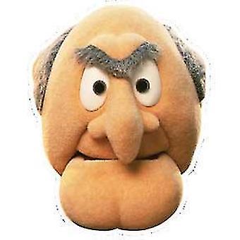 Statler Card Face Mask (The Muppets)