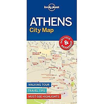 Carte d'Athènes de Lonely Planet City