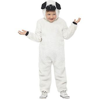 Childrens Sheep Lamb Fancy Dress Costume