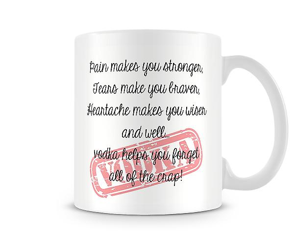 Pain Makes You Stronger Mug