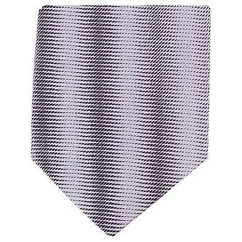 Knightsbridge Neckwear Tonal Striped Regular Polyester Tie - Purple
