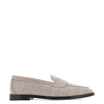 Etro Pink Leather Loafers