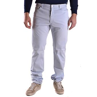 Fred Perry Light Blue Cotton Pants