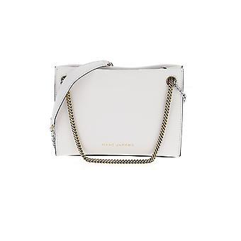 Marc Jacobs White Leather Shoulder Bag