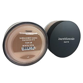 BareMinerals matte foundation spf 15 Oz.21 tan 19