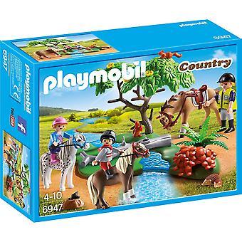 Playmobil land paardrijden 6947