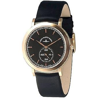 Zeno-watch flatline montre plate 2 quartz 6703Q-Pgr-f1