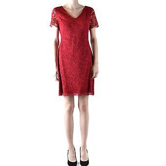 Ralph Lauren Burgundy Viscose Dress