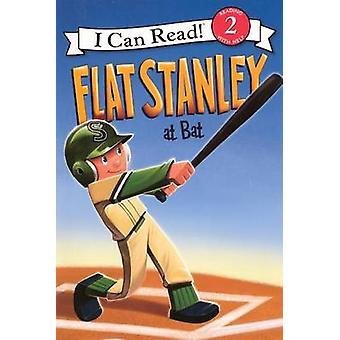 Flat Stanley at Bat by Jeff Brown - Lori Haskins Houran - Macky Pamin