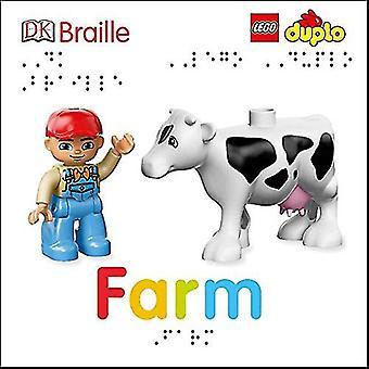DK Braille - Lego Duplo - Farm by DK - 9781465468550 Book