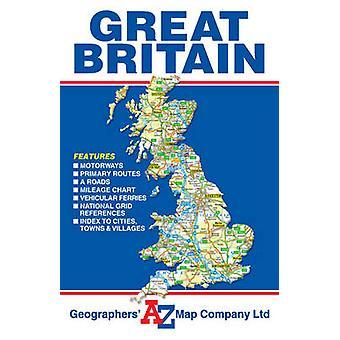 Great Britain Road Map - 9781782570769 Book