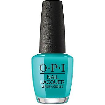 Opi Neon Collection Summer 2019, 0.5 oz, Dance Party 'teal Dawn, NL N74