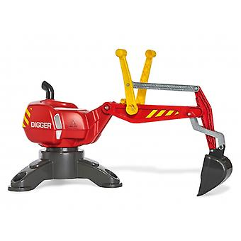 Rolly Toys Static 360 Degree Excavator Red
