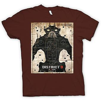 T-shirt - distretto 9 - alieno - UFO - B Movie