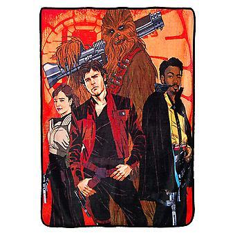 Super Soft Throws - Han Solo - Galaktische Swag neue 45 x 60