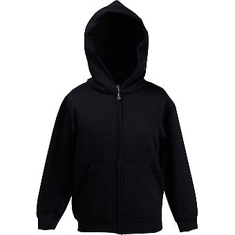 Fruit Of The Loom - Premium 70/30 Kids Hooded Zipped Hoody - École - Sports