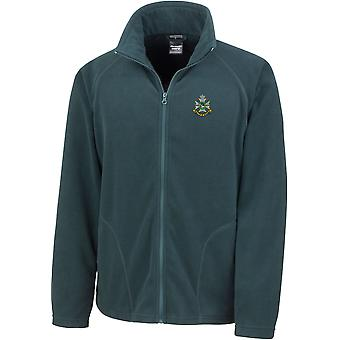 Sherwood Foresters - Licensed British Army Embroidered Lightweight Microfleece Jacket