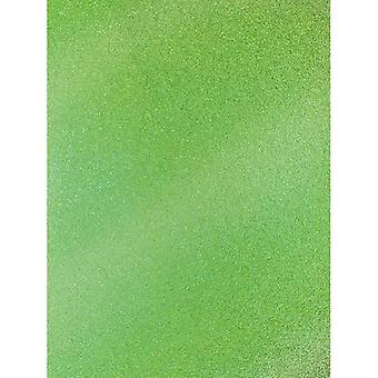 Green A4 Coloured Glitter Card By Artoz