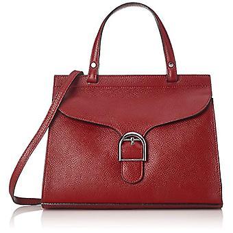 Chicca Bags 8836 Women's shoulder bag Red 32x24x13 cm (W x H x L)