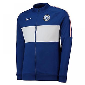 2019-2020 Chelsea Nike I96 Jacket (Blue) - Womens