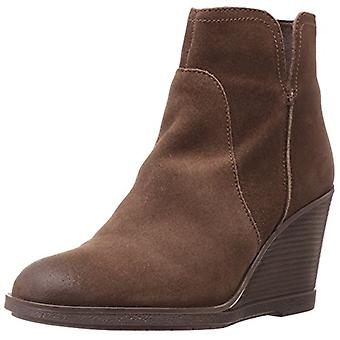 Kenneth Cole Reaction Womens DOT-ATION Fabric Almond Toe Ankle Platform Boots