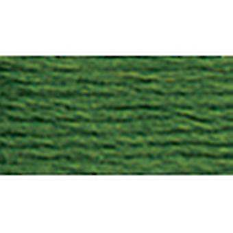 DMC-Wandbehang & Stickerei wolle 8,8 Yards sehr dunkle Avocado 486 7346
