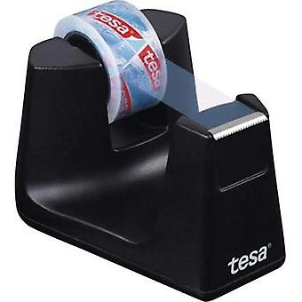 Desk tape dispenser TESA Tesafilm® Black Content: 1 pc(s)