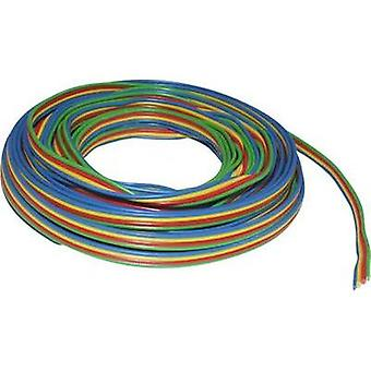 Strand 4 x 0.14 mm² Green, Red, Yellow, Blue BELI-BECO L418/50 50 m