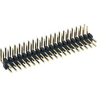 Pin strip (standard) No. of rows: 2 Pins per row: 20 BKL Electronic 10120407 1 pc(s)