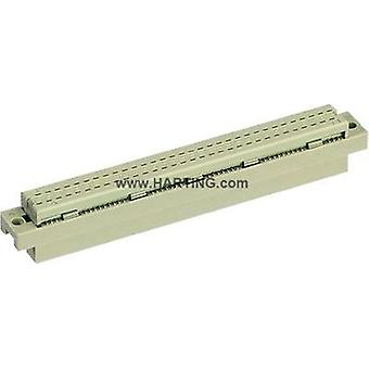 Edge connector (receptacle) 09 03 264 6828 Total number of pins 64 No. of rows 3 Harting 1 pc(s)