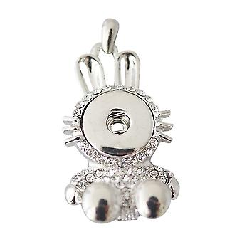 Stainless steel pendant for click buttons KB0162