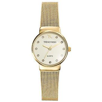 Watch Trendy Kiss TMG10065-07 - round Golden woman