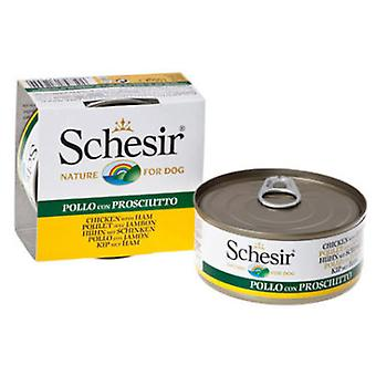 Schesir Chicken fillets with ham (Dogs , Dog Food , Wet Food)