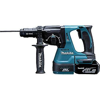 Makita Light to Battery 18v hammer, drill chuck; 24mm; 2Bat DHR243RTJ