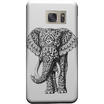 Ornate cover elephant navajo for Galaxy S7 Edge