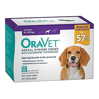 Oravet Dental Chew Medium 28's